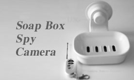 Bathroom Spy Camera hidden soap box