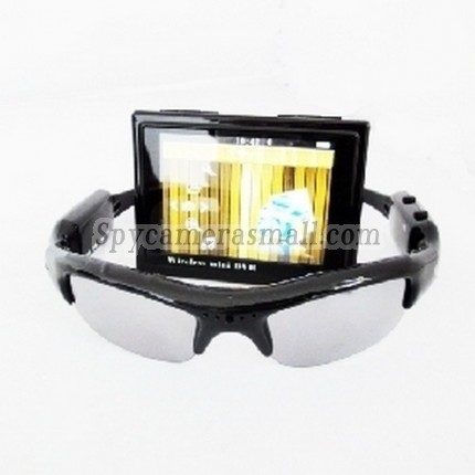 Spy Sunglasses Camera - Wireless Spy Sunglasses Camera With Portable Dvr Receiver