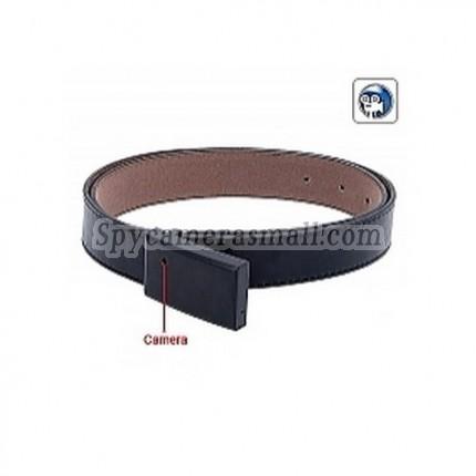 4G Belt Buckle Spy Camcorder - Hidden Camera w/ Remote Control