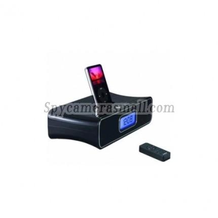 hidden Spy Clock Cam - AEG Remote control Alarm Clock Radio HD Spy Camera DVR 1280X720 16GB