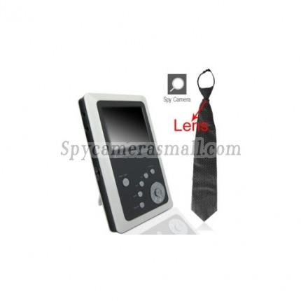 spy cameras - Spy Neckie Camera with Motion Detector