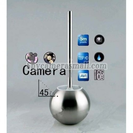 Toilet Brush Hidden Splash 1080P HD Bathroom Spy Camera Motion Detection DVR 32GB (camera lens 45 degree up),best Toilet Brush Spy Camera DVR, Bathroom Spy Camera