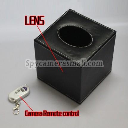 HD Tissue Box Spy Camera For Bedroom Hidden HD Pinhole Spy Camera 16GB 720P,best Toilet Spy Camera, Bathroom Spy Camera
