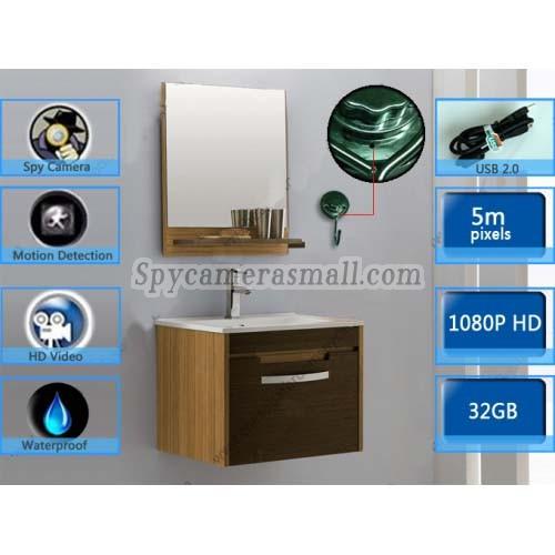Stainless Steel Bathroom Hook Hidden Hd Spy Camera Dvr 32gb 1920x1080 Motion Detection Best Towel
