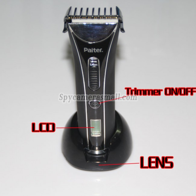 Hair Trimmer Spy Hidden Camera Waterproof Hd Dvr 720p 32gb