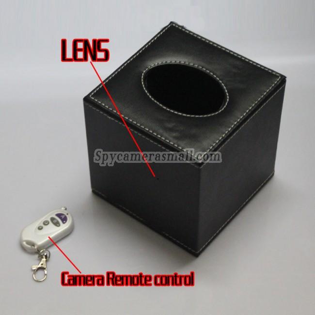 HD Tissue Box Spy Camera For Bedroom Hidden HD Pinhole Spy