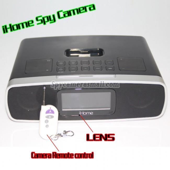 ihome alarm clock radio spy camera 1080p hd spy dvr pinhole spy camera 32gb internal memory best. Black Bedroom Furniture Sets. Home Design Ideas