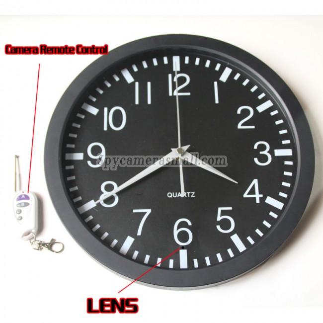 image Shower clock hidden camera voyeur 2