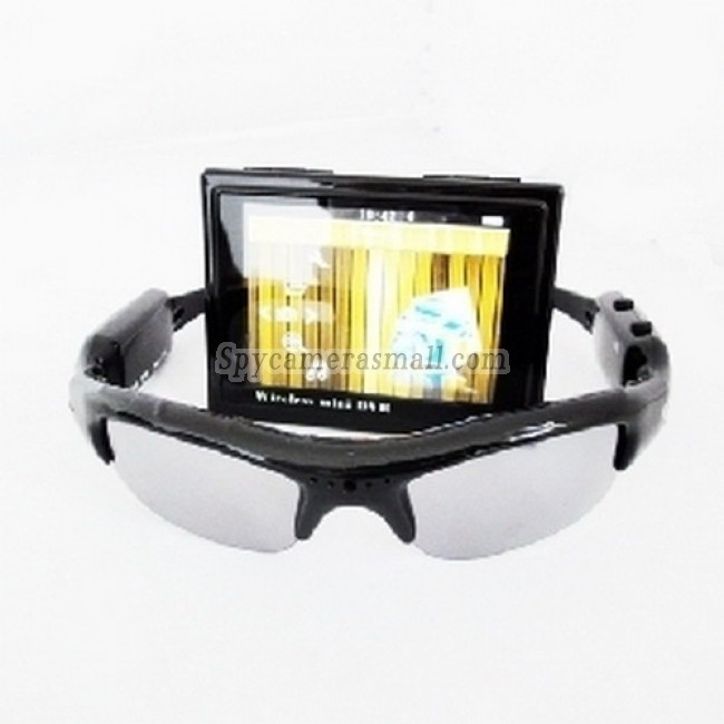 Spy Sunglasses Camera - Wireless Spy Sunglasses Camera With Portable Dvr Receiver