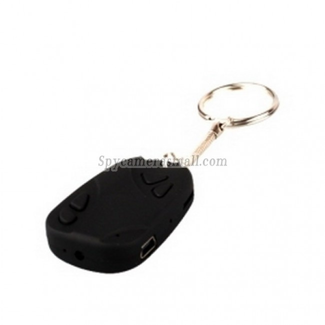 spy cameras - 30FPS 720x480 Spy Car Key Chain Video Recorder DVR Hidden Camera Supporting up to 8G TF Card