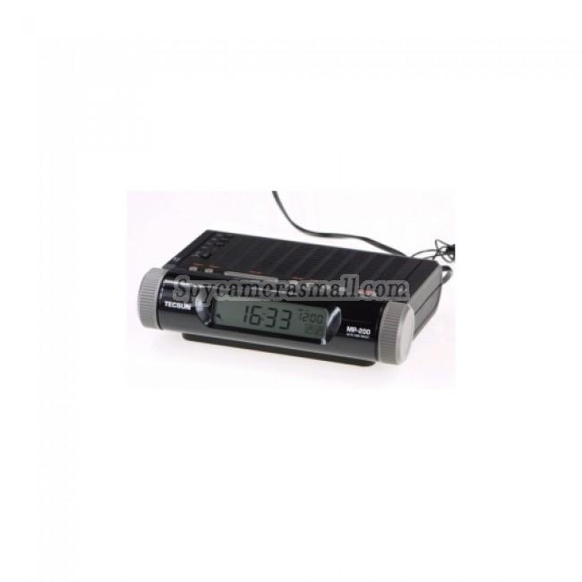 Alarm Clock Radio Hiden HD Spy Camera DVR - TECSUN Alarm Clock Radio HD Bedroom Spy Camera DVR 16GB 1280X720