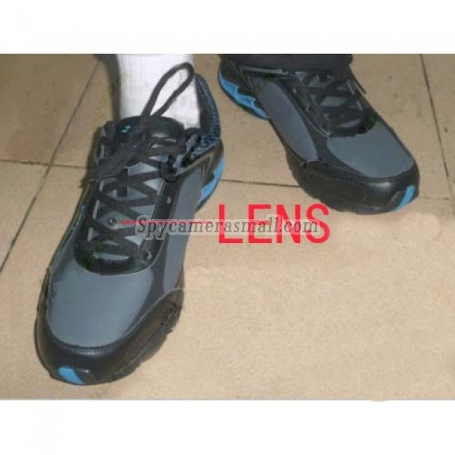 hidden spy shoes camera with portable recorder men sports shoes hidden pinhole spy hd camera. Black Bedroom Furniture Sets. Home Design Ideas