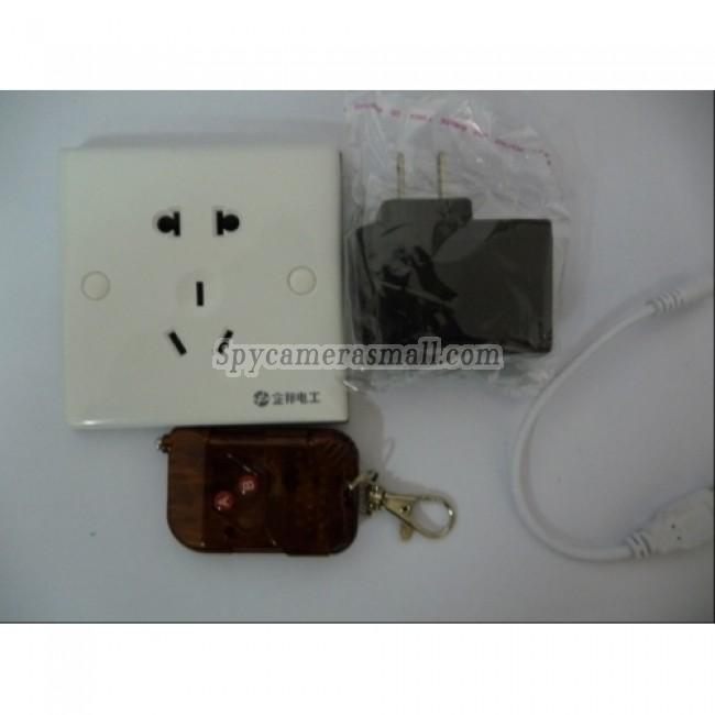 Pinhole Charger Plug hidden spy Camera Recorder - 8GB Spy Charger Plug Hidden Camera DVR with remote control