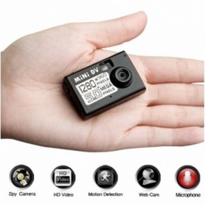 spy equipment products - Mini HD Spy Camera with Motion Sensor