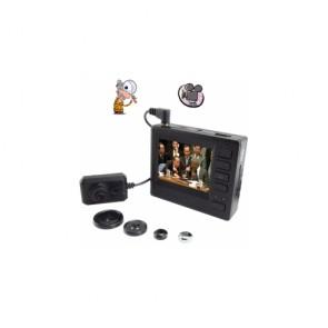 hidden Spy Button Cam DVR - High Definition Mini Pinhole Spy Camcorder Pocket DVR