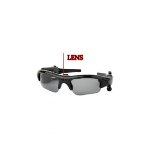 Spy Sunglasses Cameras - Spy Sunglasses Camera with MP3 Player (8GB)