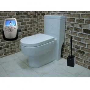 hidden cameras wireless bathroom - Hidden Bathroom Wireless Spy Camera In Spy Toilet Brush Hidden Camera Recorder