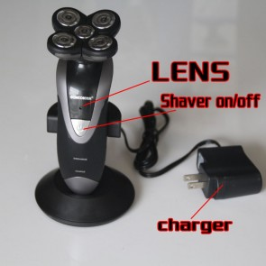 Bathroom Shaver Spy Camra 4 in 1 Hidden HD 1080P Bathroom Spy Camera DVR 16GB
