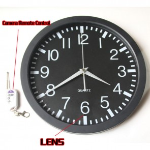 Wall Clock Hidden Spy Camera DVR with Internal Momory 32GB Motion Activated 1080P,best Shower Radio Camera, Bathroom Spy Camera