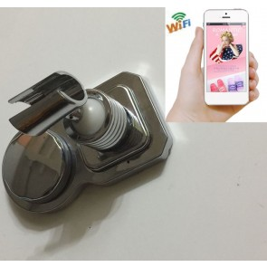 Wireless Hidden Camera for Bathroom Waterproof Spy shower rack camera with wifi/ip/16G SDCard