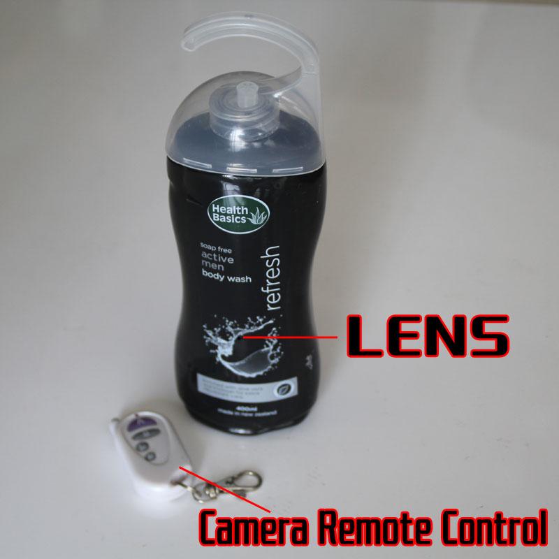 Shampoo Spy Camera